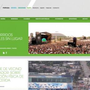 corriendo la voz: some recent Musical Urbanism appearances in Spanish