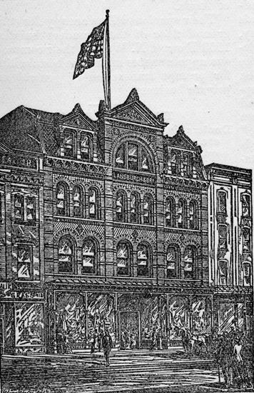 Lansburgh's flagship store, as it originally was