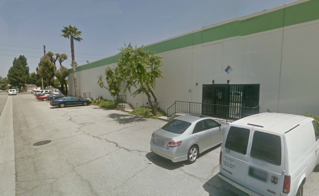 The building where Enigma and Restless Records were located back in 1989, as seen today from Google Street View image.
