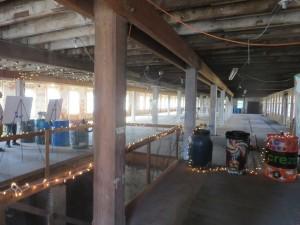 Inside the Poughkeepsie Underwear Factory.