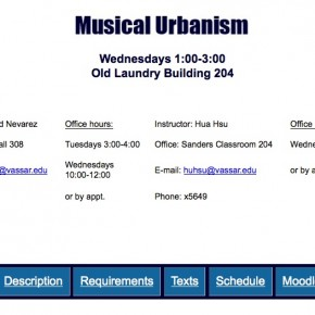 syllabus for 2015 Musical Urbanism seminar