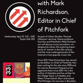 scenes in the 10.0 era: a conversation with Pitchfork editor Mark Richardson