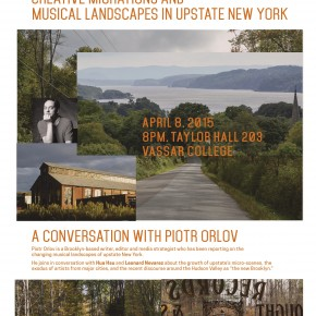 looking for the new Brooklyn: creative migrations & musical landscapes in upstate New York