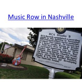 how to teach Musical Urbanism in three lectures