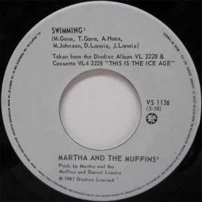 "Martha and the Muffins – ""Swimming"" b/w ""Little Sounds (Excerpts)"" (VS 1136)"