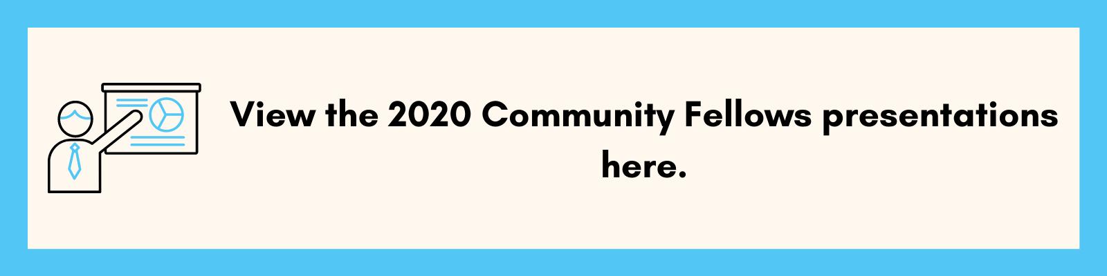 CF 2020 presentations