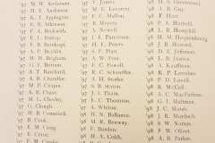 Vassar Marshall Club Roster (1896-1897)
