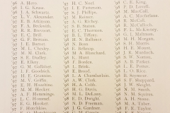 Vassar Contemporary Club Roster (1895-1896)