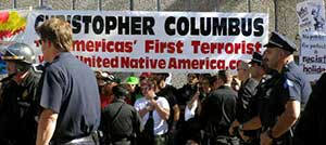 Anti-Columbus Day protests in Colorado