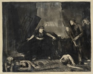 """The Last Victim"" by George Bellows"