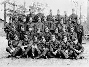 A crew of the Civilian Conservation Corps