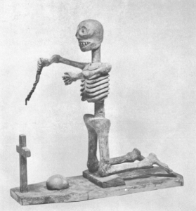 Kneeling Death Figure