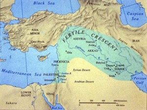The Cradle of Civilization, the Fertile Cresent