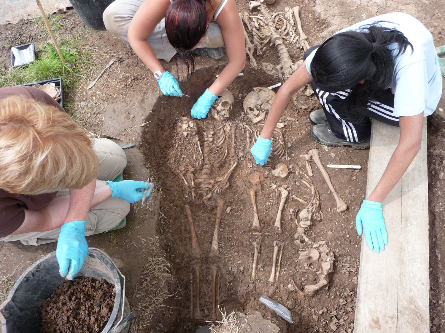 Steps in digging an archaeological site?