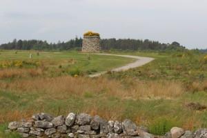 Culloden Memorial Cairn