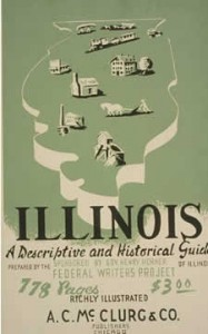 The Cover of the FWP State Guide for Illinois