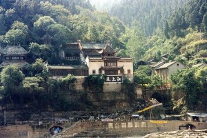 Zheng Fei Temple was moved to higher elevation to prevent it from being submerged