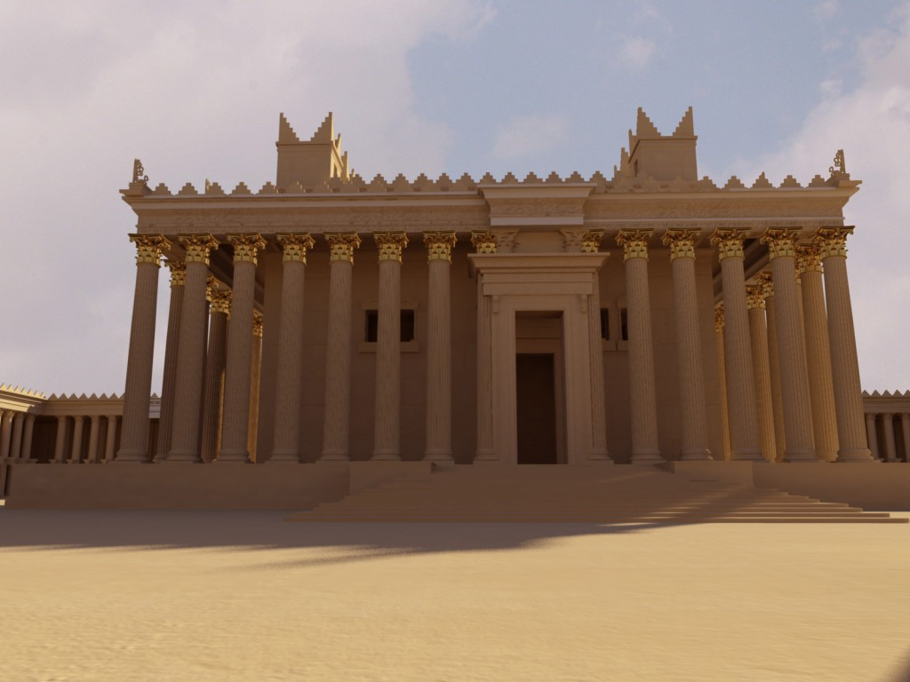 3D Structure created by the  New Palmyra Project
