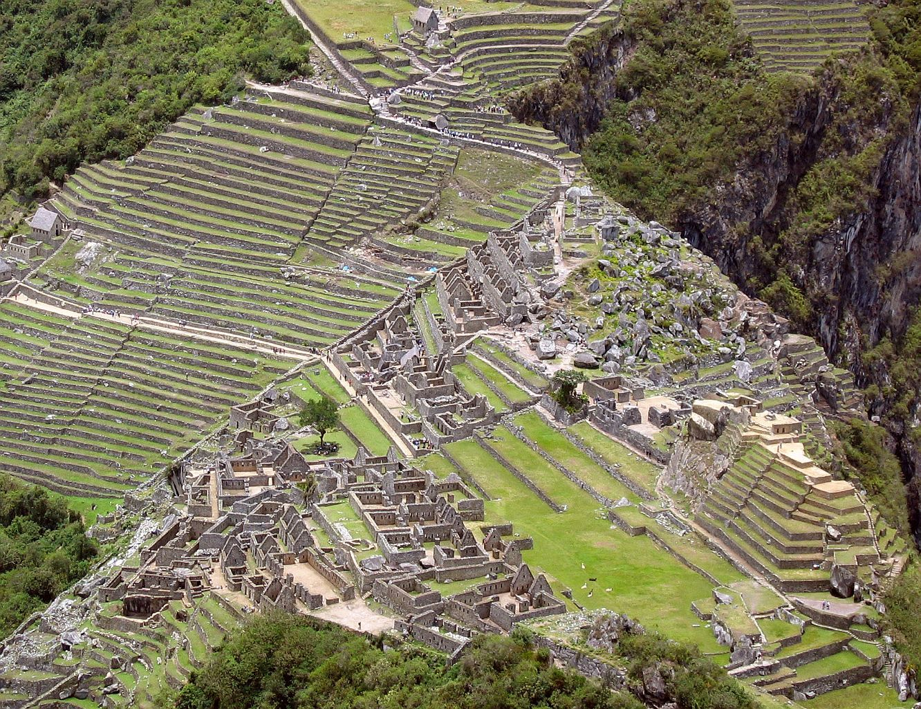 Environmental adaptation of ancient incan cities real for In the terrace