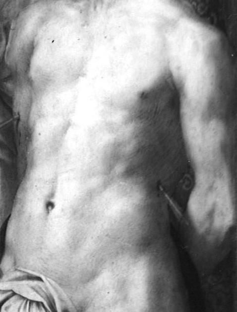 Fig.P.12g St. Sebastian, detail