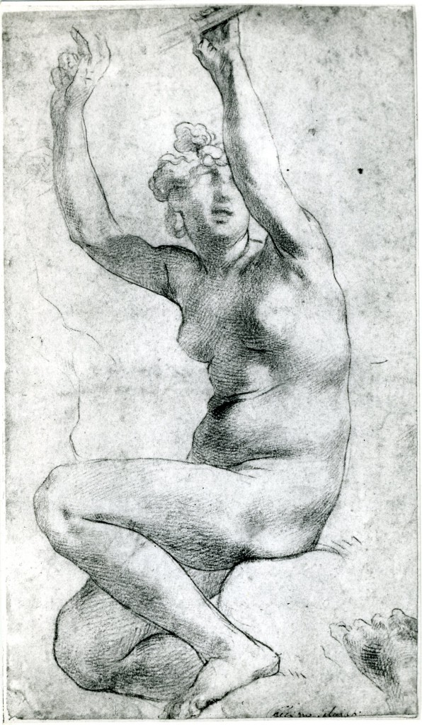 Woman Seated in a Niche