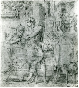 Fig. D.13 Rosso, St. Roch distributing his Father's Worldly Goods