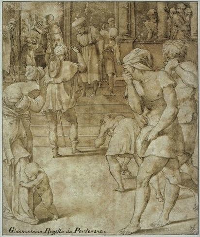 Fig. D.14B Rosso, Saint Roch visiting the Plague-stricken