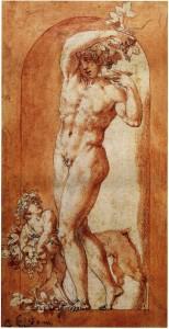 Rosso, Bacchus in a Niche. Besançon