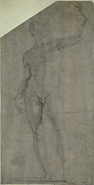 Standing Nude Youth, Paris, Louvre