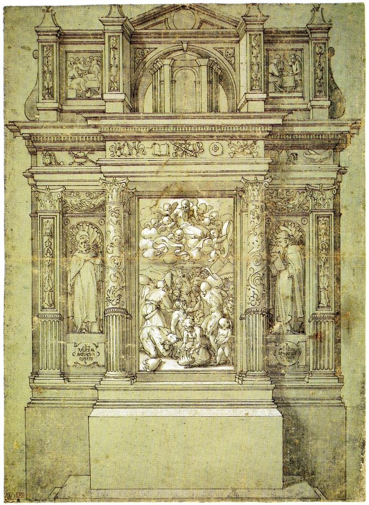D.37 Altar, Gathering of Manna