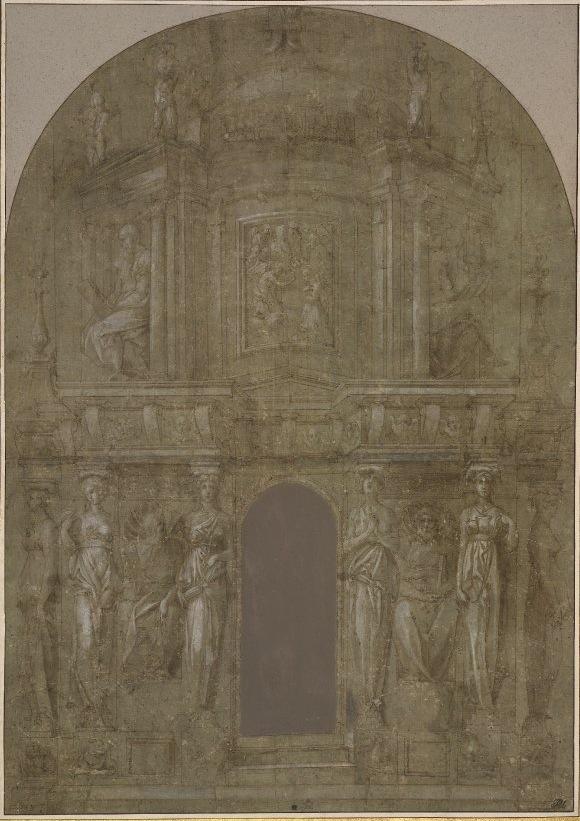 Fig. D.38a Design for an Altar, color