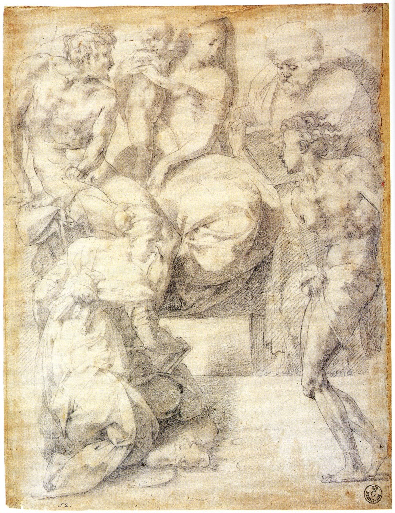 D.4 Study for an Altarpiece