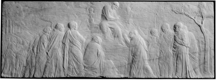 Fig. Donatello,Ascension of Christ