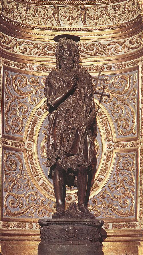 Fig. Donatello, St. John the Baptist