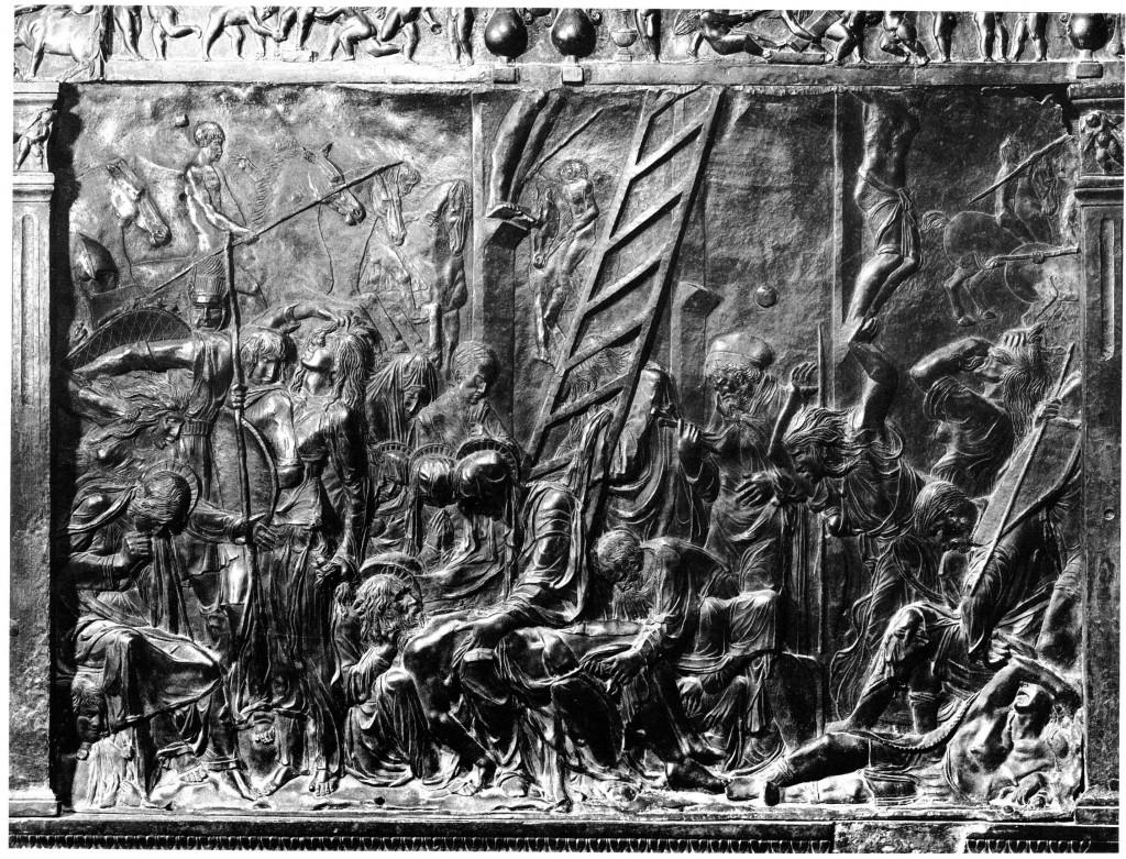 Fig. Donatello, Lamentation