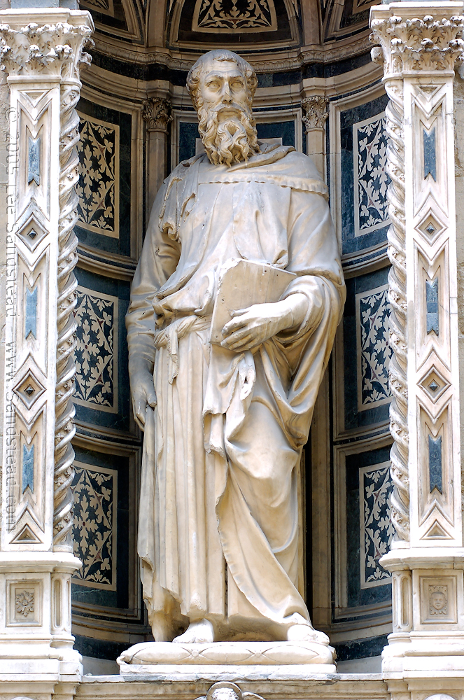 Fig. Donatello, St. Mark
