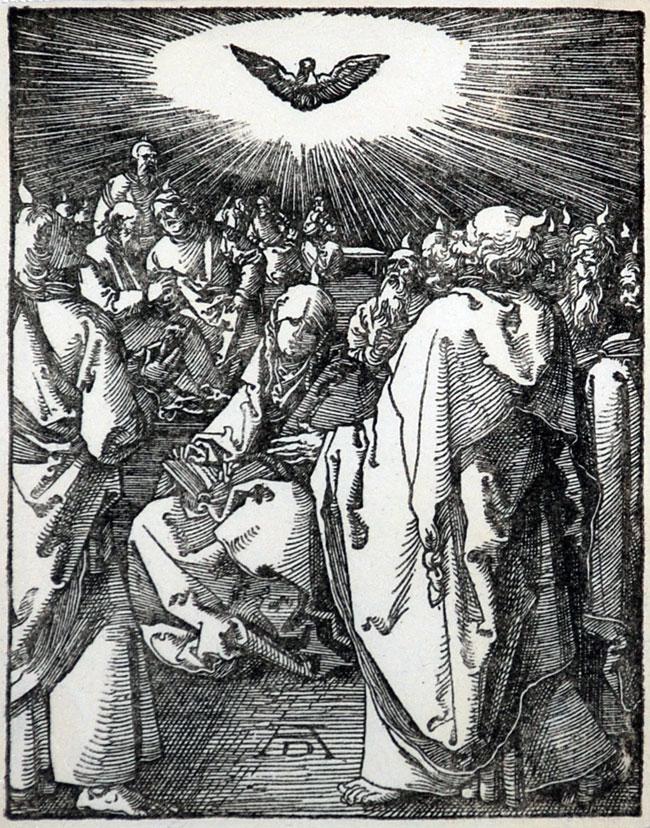 Fig. Durer, Pentecost