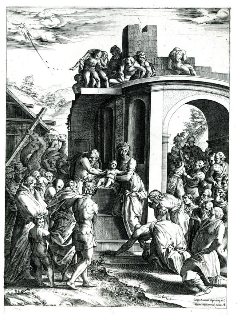 Fig. E.1 Alberti, Reverese, Adoration of the Magi
