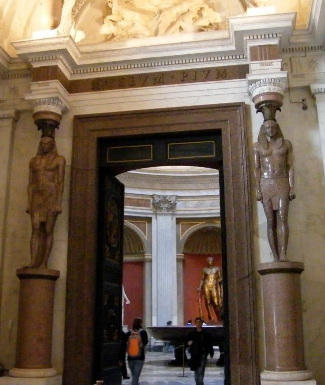 Fig. Egyptian telemons