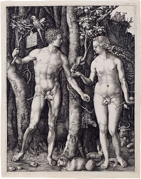 Fig.Dürer, Adam and Eve