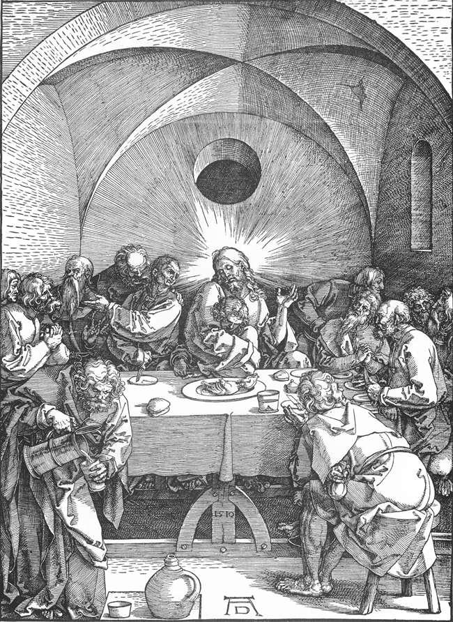 Fig. Dürer, Last Supper