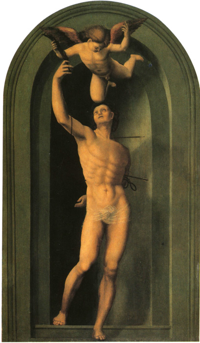 Fra Bartolommeo, St.Sebastian (Copy)