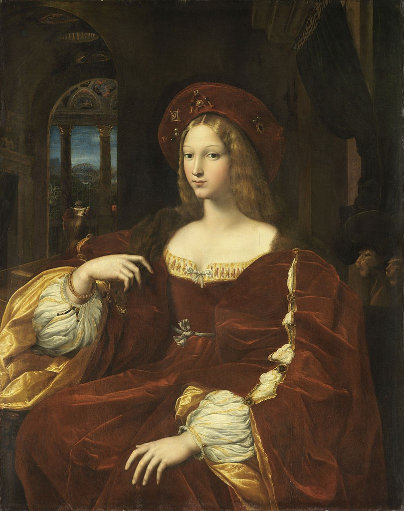 Fig.  Portrait of Doña Isabel de requeses
