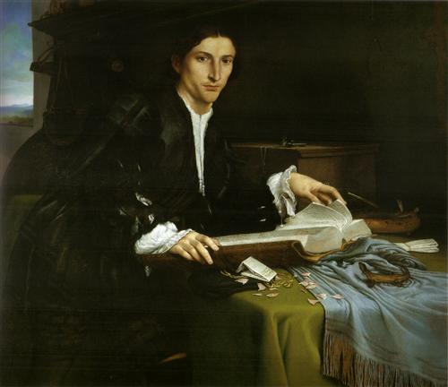 Fig. Lotto, Man in Study