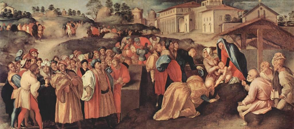 Fig.Pontormo, Adoration