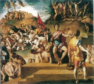 Fig. Pontormo, Legend of the Ten Thousand Martyrs