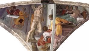 Fig.Sistine, Haman