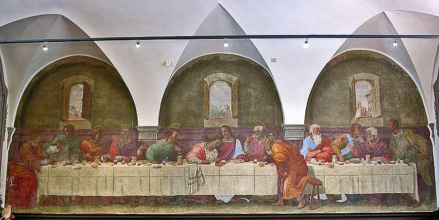 Fig. Franciabigio,  Last Supper