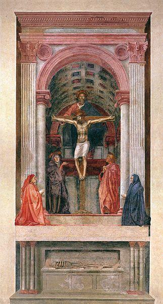 Fig. Masaccio, Trinity
