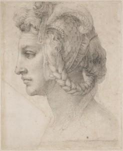 Fig. Michelangelo, London, Teste Divina